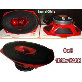 6 x 9 Car Speakers