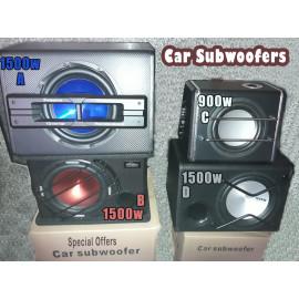 Car Woofer-Amplifier
