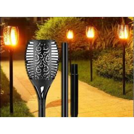 Solar Torch Light True Flame