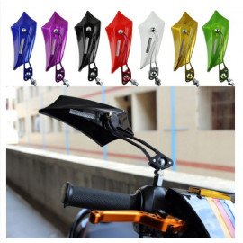 Bat Shape Motorcycle Mirrors