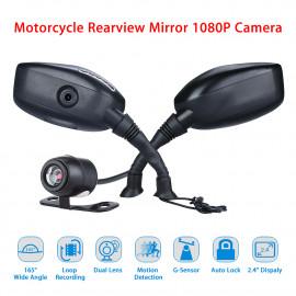 Motorcycle Rear Mirror Cam