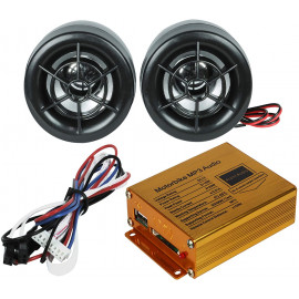 Motorcycle Anti-Theft System & Mp3 Audio