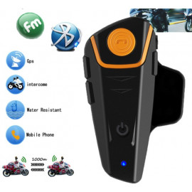 Helmet Intercom Motorcycle Bluetooth Headset