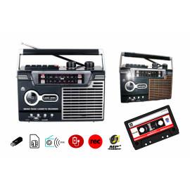 Radio Cassette Recorder with USB