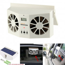 Solar Auto Double Head Car Cooler