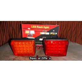 12v Led Flash Lights Set