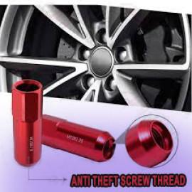Aluminum Anti-Theft Wheel Screws