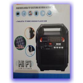 Solar Speaker