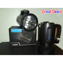 100w Rechargeable Led Torch Light