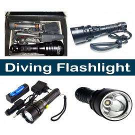 Diving Flashlight Led