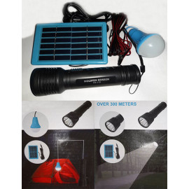 Solar Torch & Led Light Lamp