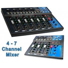 DJ Mixing Console