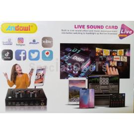 Live Sound Card