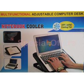 Adjustable Laptop Desk-Cooler