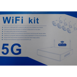 4 Channel Wireless NVR System Cameras