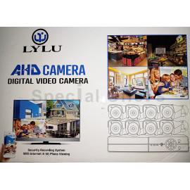 8 Camera CCTV System