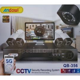 4 Chanel System Cameras