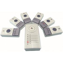 6 zone wireless doorbell
