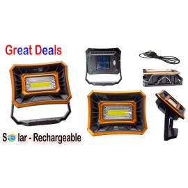 Solar & Rechargeable Light